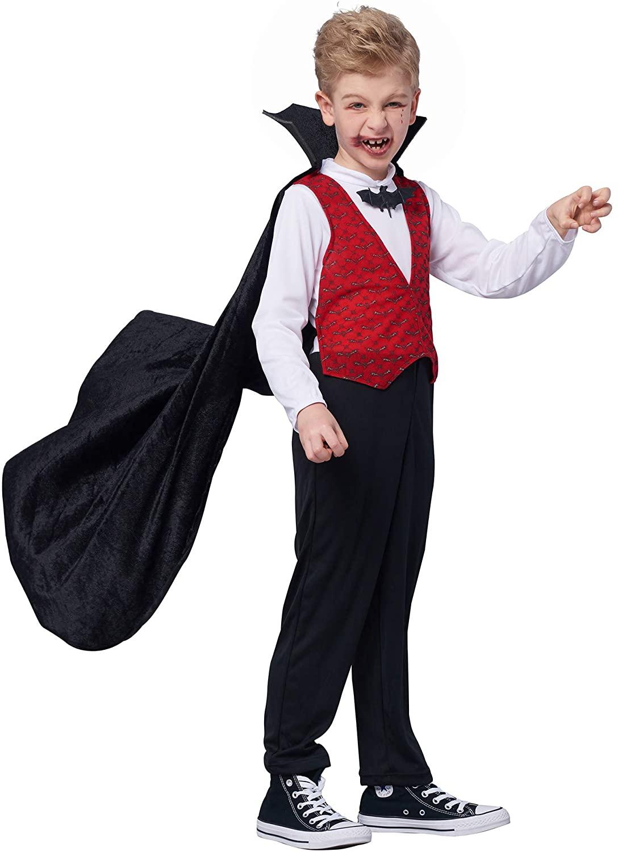 Vampier Kostüm für Jungen für Halloween