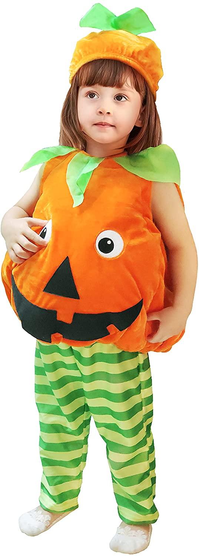 Kürbis Kostüm für Jungs und Mädchen zu Halloween